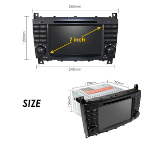 Image 5 - Android 10 4G 64G 2DIN DVD Do GPS Do Carro Para Mercedes/Benz W203 W209 W219 W169 A160 C180 C200 C230 C240 CLK200 CLK22 estéreo rádio Cam