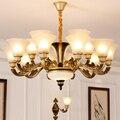Европейская хрустальная люстра для гостиной  современный минималистичный светильник для гостиной  дома  зала  ресторана  спальни  подвесны...
