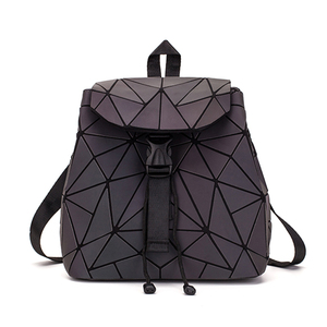 Image 4 - DIOMO Small Backpack Women Holographic Sequin Female Backpacks for Teenage Girls Bagpack Drawstring Bag Designer Korean Style