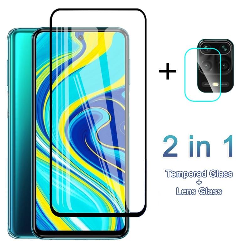 Glass Film For Xiaomi Redmi Note 8 7 Pro 8T 9S 9 Max 7A Mi 10 9T Poco X3 NFC F2 Lite Screen Protector On K30 ultra Camera Glass(China)