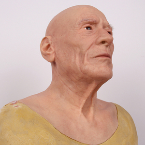 Image 5 - Halloween Old Man Mask Realistic Silicone Masquerade Full Head Tricky Props Drag Queen