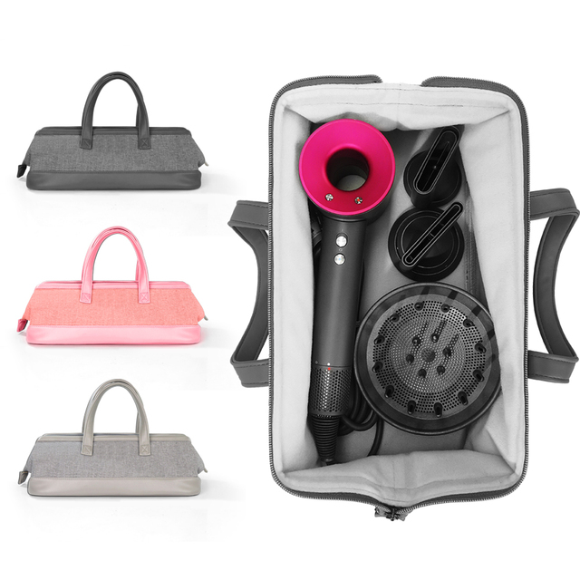 Dyson حقيبة تخزين مجفف شعر Dyson ، منظم محمول ، مقاوم للغبار ، حقيبة سفر ، حقيبة