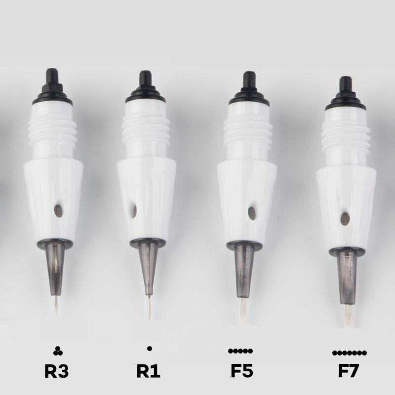 Microblading 25 Pcs Tattoo Needle Cartridge M1 L1 R3 R5 F5 F7 Needles Used For Artmex V8 V6 V3 PMU Semi Permanent Makeup Machine