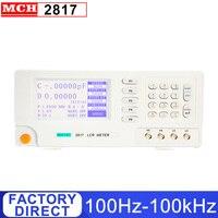 100Hz-100 Khz Digitale Lcr Brige Meter Met 0.1% Nauwkeurigheid Lcr Brug Meter 8817 2817 2817A 2811C 4 specificaties Optionele