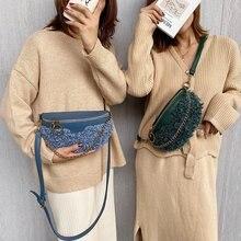 Wrist-Bag Handbag Chains Belt Women's Bag Girls Fashion Ladies Luxury New Wool for Winter