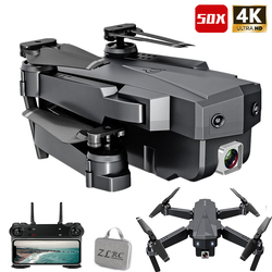 Best Drone 4K with HD Camera WIFI 1080P Camera Follow Me Quadcopter FPV Professional Drone Long Battery Life Altitude Hold RC