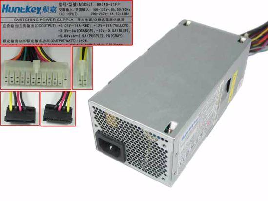 Emmacro para huntkey HK340-71FP s1 fonte de alimentação do servidor 240 w