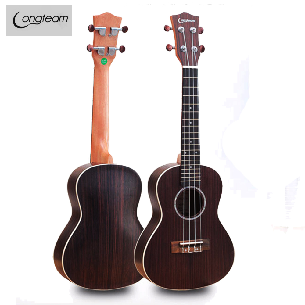 Hot Sale 23 26 Inch Concert Tuner Acoustic Electric pick up Hawaii Mini Guitar Ukulele Rosewood Musical Instrument Gift Uk2334 image