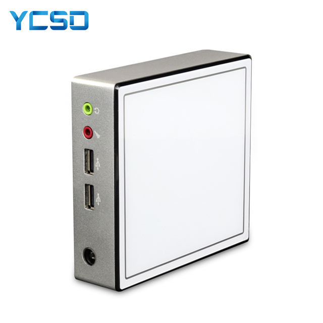 YCSD Ultra thin Mini PC Core i3 4010Y i5 4210Y Celeron 2955U HDMI Wifi TV BOX HTPC Office minipc Mini computer Windows MINIPC