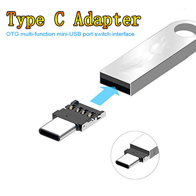 Type-C Adapter OTG Multi-function Converter USB Interface To Type-C Adapter Micro-transfer Interface For Data Cables Card Reader