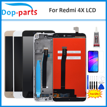 "Redmi 4x pro digiziter 어셈블리 부품 용 xiaomi redmi 4x lcd 디스플레이 터치 스크린 교체 용 원본 5.0 ""lcd"