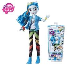 My Little Pony 28cm spielzeug Dämmerung Sunset Glanz Pinkie Pie mädchen modell geburtstag geschenk PVC Action Figure Spielzeug