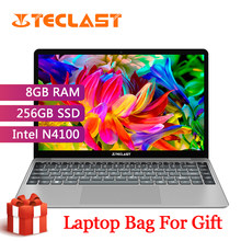 Teclast F7 Plus Laptop 14.1 Inch 8GB RAM 256GB SSD Windows 10 Intel Gemini Lake N4100 Quad Core 1920X1080 Ultra Tipis Notebook(China)