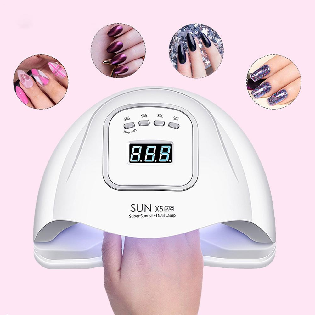 UV LED Nail Lamp 120 W Nail Dryer For All Gels Polish Sunshine Infrared Detection Ice Lamp For Manicure
