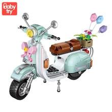 LOZ 673pcs Mini Building Bricks Motorcycle Model Assembly Blocks Creator Plastic DIY Educational Toys For Girls Birthday Gifts цена 2017