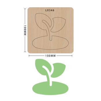 SMVAUON nowe matryce do 2020 r Drewniane szablony do wycinania matryc formy do wykrawania drewna księga gości Die Cut DIY handmade tanie i dobre opinie Nieregularne Rysunek Laser mold