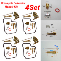 new Four cylinder Motorcycle Carburetor Repair Kit high quality Carburetor Repair Kits For HMHonda NC23 CBR400RR CBR23