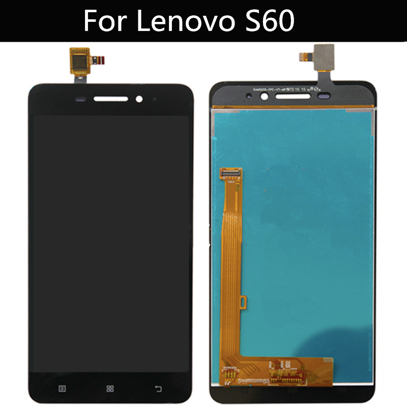For Lenovo S60 S60W S60T S60A LCD Display+Touch Screen +Tools Digitizer Assembly Replacement Accessories image