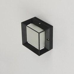 5W LED kinkiet AC 110V 220V ze stopu Aluminium ze stopu Aluminium kryty odkryty ogrodowe dom światło dla sypialni lampka nocna korytarz dziedziniec kinkiet|Zewnętrzne lampy ścienne|   -