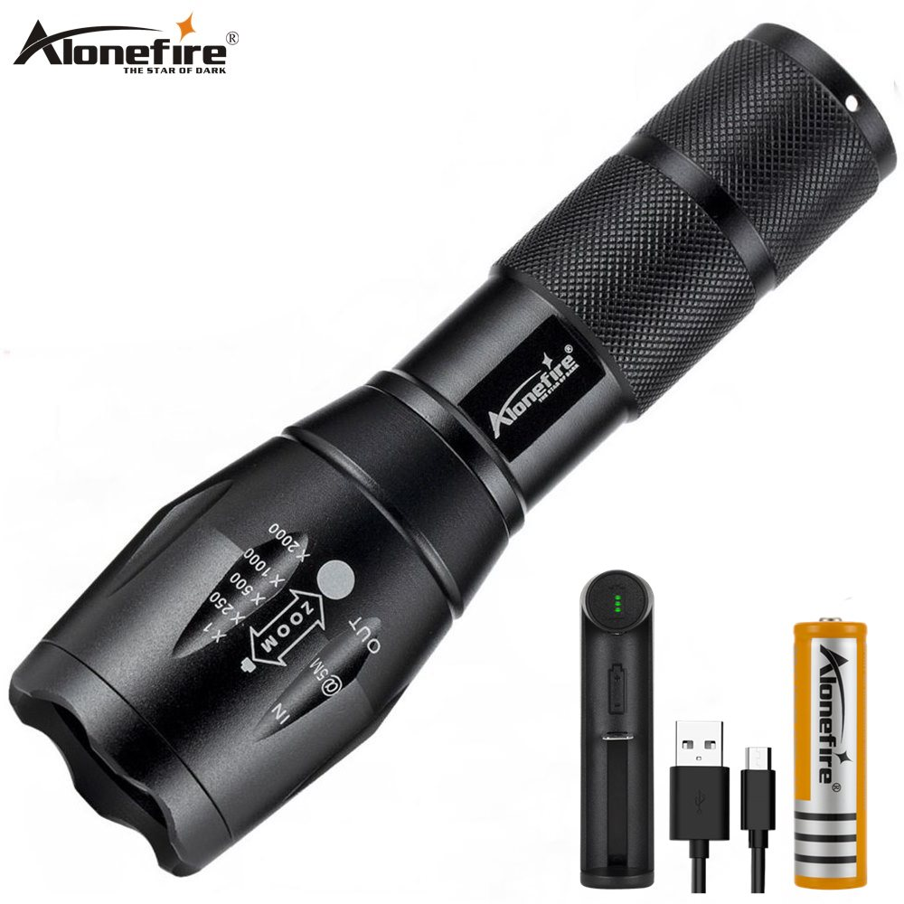 20000LM CREE G700 XML L2 LED Tactical Flashlight Military Grade Light Torch Kit