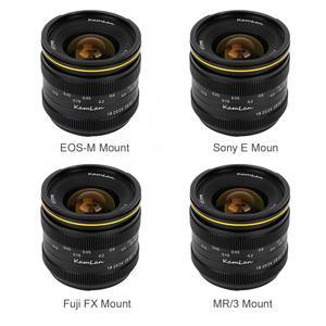 Image 1 - Kamlan 21mm F1.8 Portable Waterproof Mirrorless Camera Manual Fix Focus Prime Lens for Fuji FX/ M4/3  Manual Focus Lens
