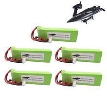 Bateria lipo para ft010 ft011 rc barco rc helicóptero aviões peça de reposição do carro 4S 14.8 v 2800mah 30c 803496 bateria 1 pces a 5 pces