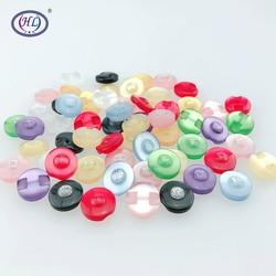 HL 12MM 50pcs/150pcs Lots Colors Cat Eye Resin Shirt Buttons Pearl Garment Sewing Accessories DIY Crafts