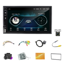 7 Inch Car Multimedia Player 2 Din Android 10.1 MP5 Player 2.5D Press Sn Stereo Radio