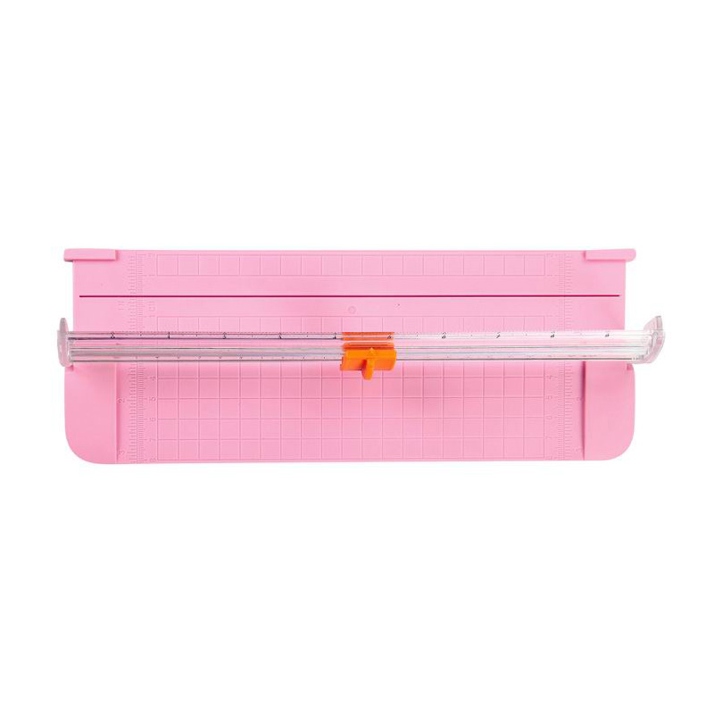 Paper Cutter A5 Paper Trimmer Scrapbooking Tool With Finger Protection Slide Ruler TU-shop