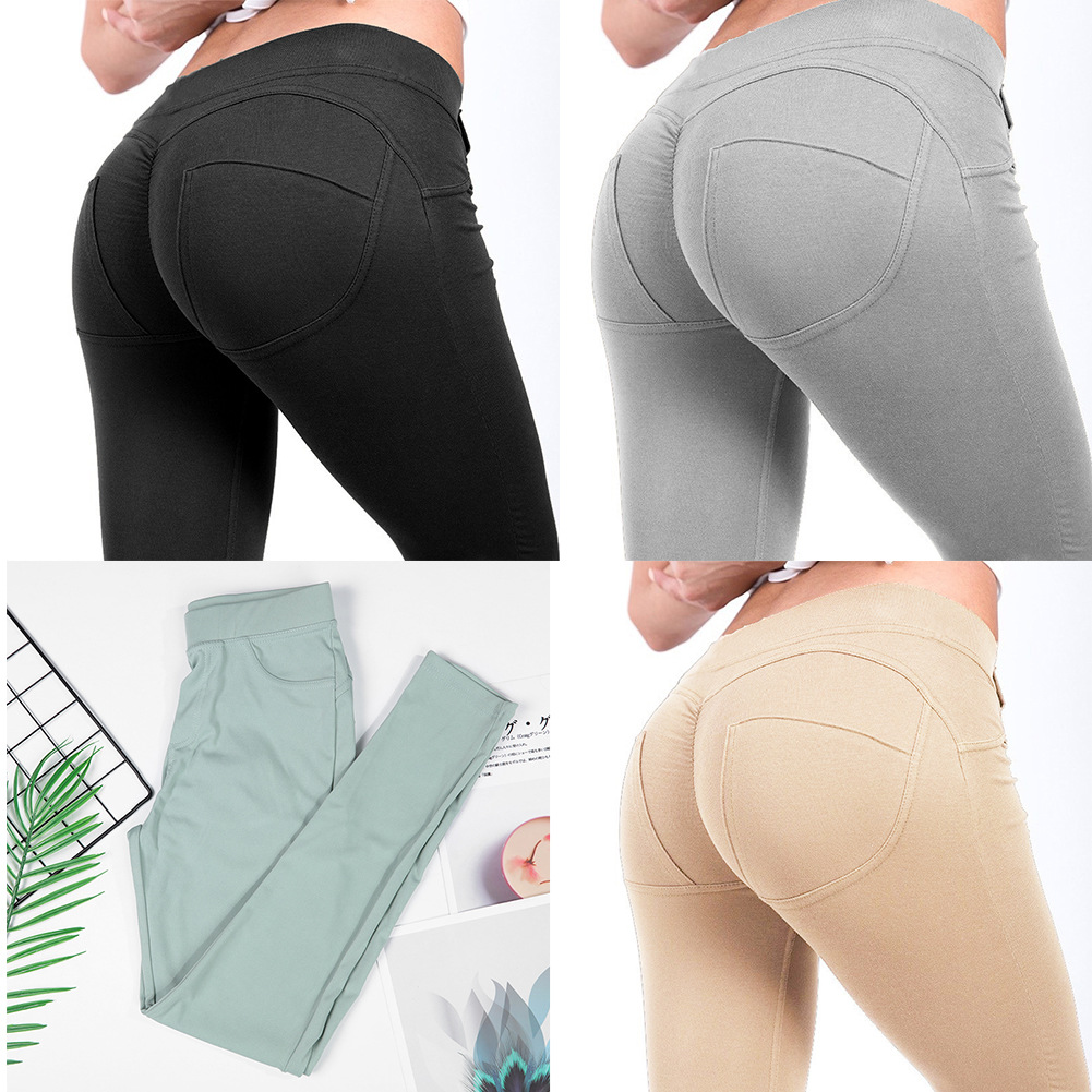 Leggings Push Up Fashion Pants High Waist Workout Jogging For Women Athleisure Training Leggings