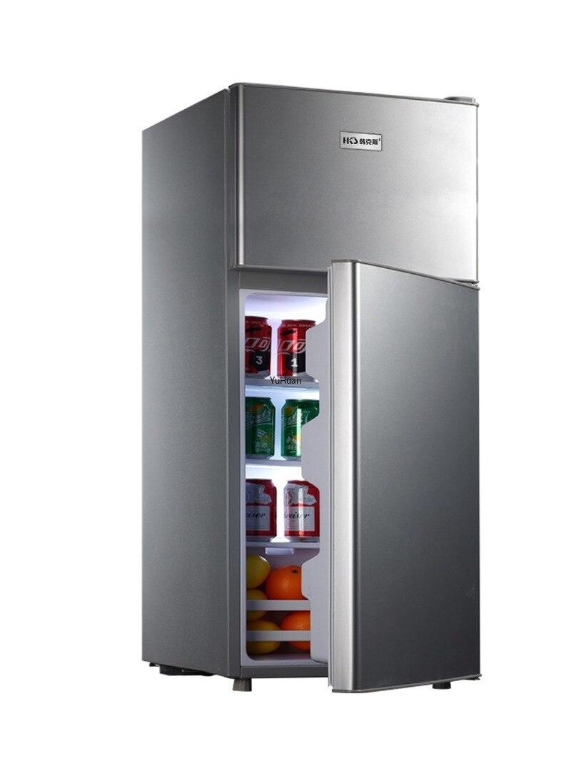 Household Double Door  Energy-saving Refrigerator Refrigerated  Refrigerator Fridge  Cold Storage & Freezing Refrigerator