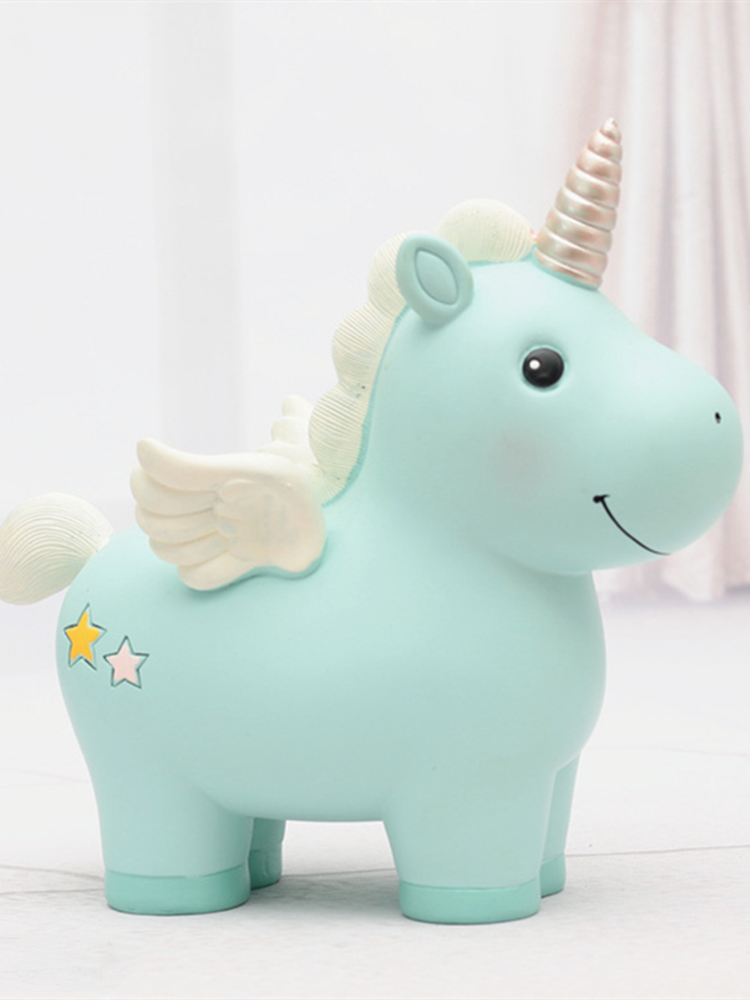 Top-Ornament Horse-Money-Box for Home Cute Toy Party Student Birthday-Gift Souvenir Desk