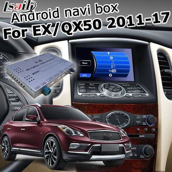 Android / carplay interface for Infiniti QX50 / EX35 EX37 2012-2017 with QX60 QX70 QX80 video interface GPS navigation by Lsailt image