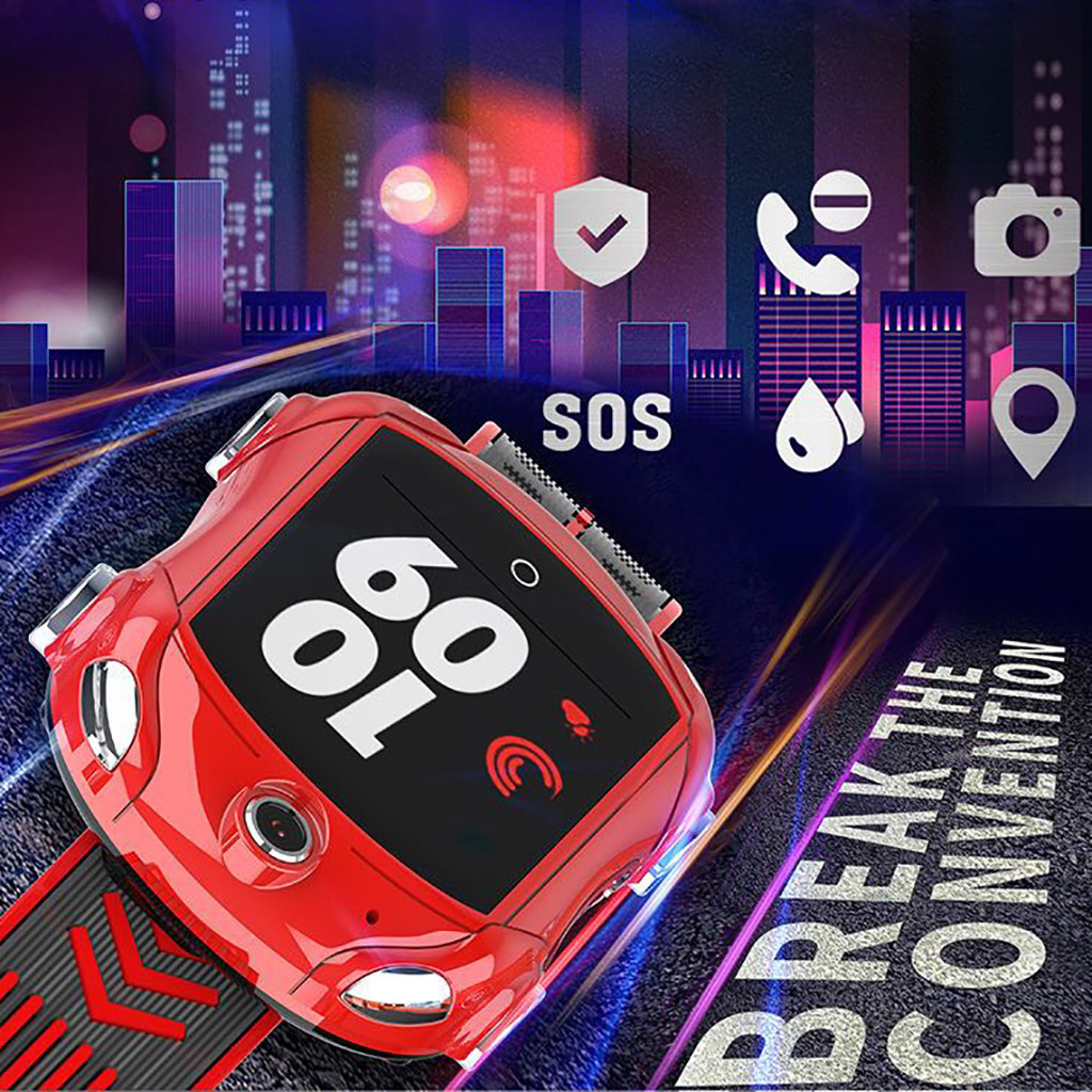 DS53 Kids <font><b>SmartWatch</b></font> WIFI <font><b>4G</b></font> Waterproof Unlocked Phone GPS Tracker-Video Chat Multifunction Children Smart Watches image