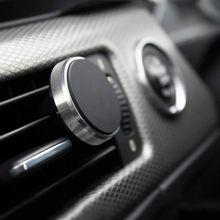 Teléfono en soporte magnético para montaje en salida de aire de coche para iPhone HUAWEI soporte Universal para Smartphone soporte magnético soporte para móvil