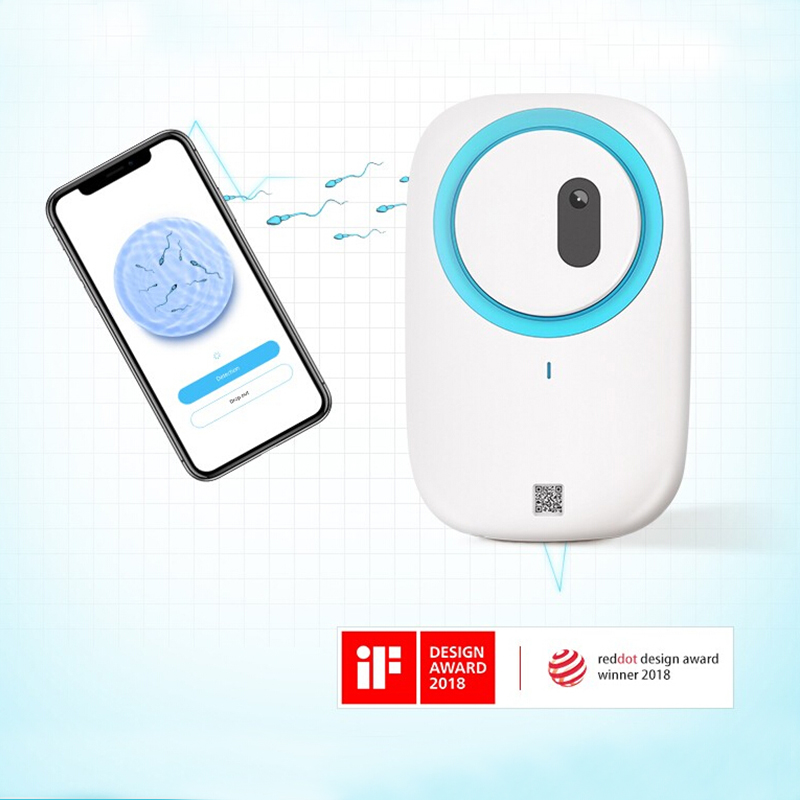 Home Sperm Test for IOS or android Includes 2 Tests Men's Motile Sperm microscop Fertility Test Check Moving Sperm Record Videos(China)