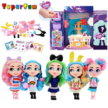Fashion Figure Dolls For Girls Indoor Kids hair Beauty surprise dolls Children Good Gift Hairdorables