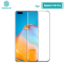 Tempered Glass For Huawei P40 Pro Nillkin 3D CP+ Max Full Cover Screen Protector For Huawei P40 Pro Glass
