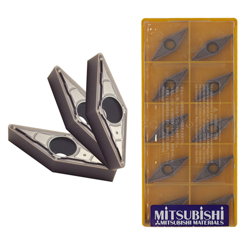 10pcs//pack MITSUBISHI VBMT160404-MV UE6020 VBMT331MV UE6020 New Carbide Inserts