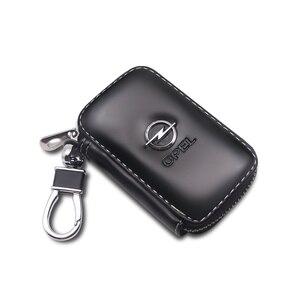 Porte-clés en cuir véritable porte-clés de voiture porte-clés Multi porte-clés de mode pour Opel Astra H G J Corsa Insignia Antara sorento