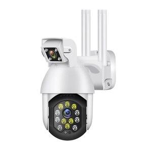 1080P WiFi Camera Night Outdoor Wireless PTZ IP Camera AI Human Action Detection Home Security Camera Surveillance