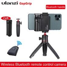 Ulanzi CapGrip Drahtlose Bluetooth Selfie Booster 1/4 Schraube Griff Grip Telefon Stablizer Stand Stativ Halterung Auslöser