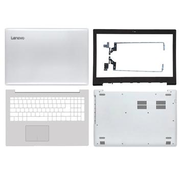 Nowy biały Laptop dla Lenovo IdeaPad 320-15 320-15IKB 320-15ISK 320-15ABR LCD tylna pokrywa przednia ramka zawiasy podparcie dłoni dolna obudowa tanie i dobre opinie KNYORO Pokrowce na laptopa CN (pochodzenie) Pokrywa wymienna do laptopa Unisex For Lenovo IdeaPad 320-15 320-15IKB 320-15ISK 320-15ABR Series