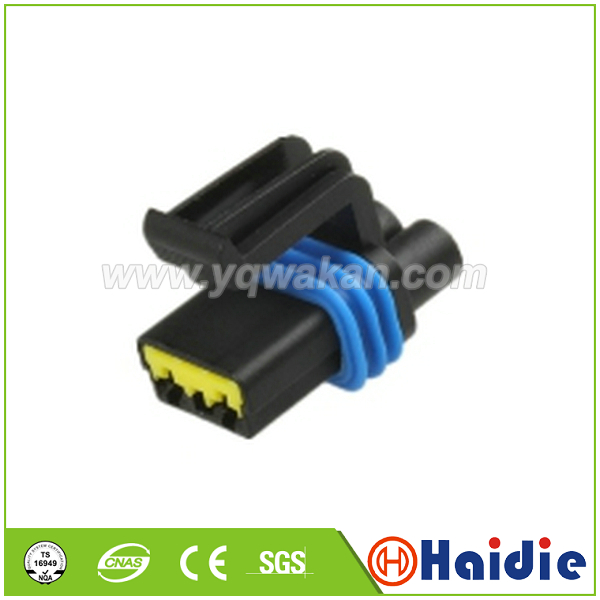 Free shipping 5sets 2pin  auto plastic housing plug cable  waterproof connector|Connectors| |  - title=