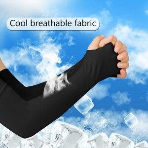 4 пары унисекс охлаждающие рукава налокотники крышка Велоспорт бег рыбалка УФ Защита от солнца Outdo женские нейлоновые крутые рукава