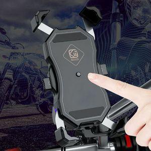 """Image 2 - Universel 360 degrés rotatif vélo vélo moto support de téléphone berceau pince de montage pour iPhone oneplus 3.5 6.5 """"téléphone portable"""