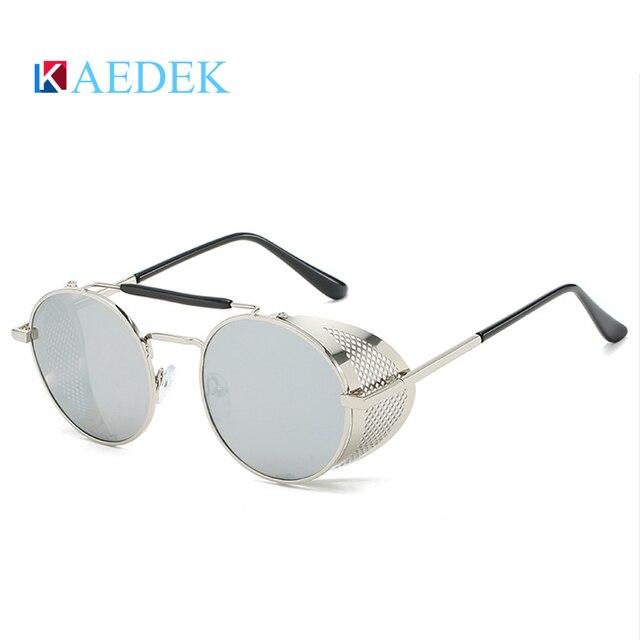 Купить мужские и женские солнцезащитные очки kaedek круглые в стиле картинки цена
