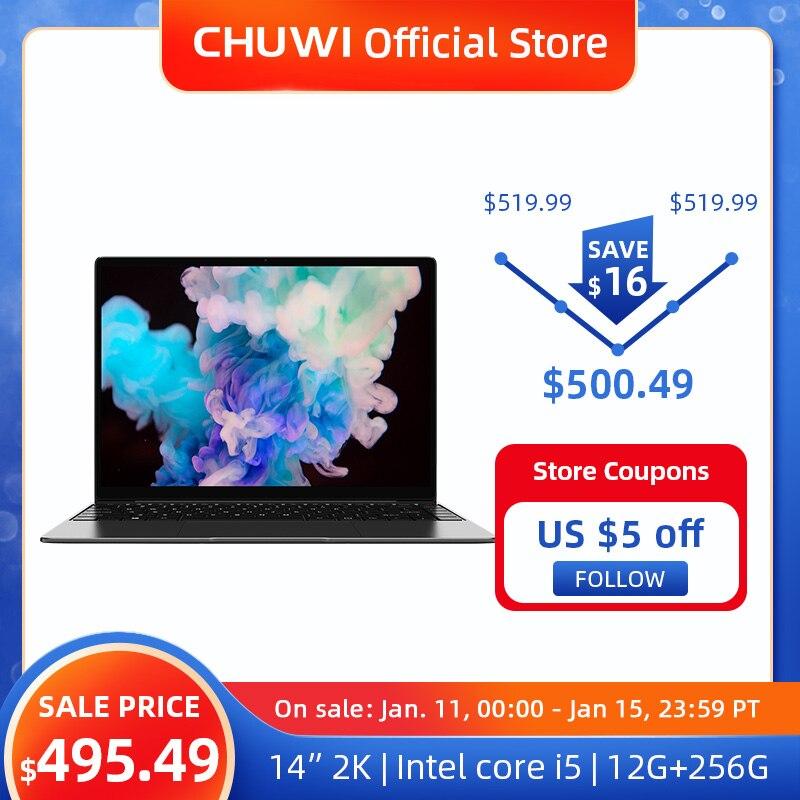 CHUWI-CoreBook-X-Intel-Core-i5-7267U-Computer-Portatili-14-Pollici-2160x1440-Risoluzione-DDR4-16GB-SSD Offerta CHUWI CoreBook X 14 a 499€, Notebook Cinese 2K super SLIM 2021