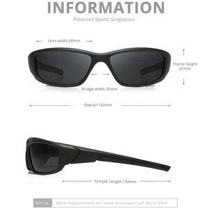 Image 2 - KDEAM Marke Angeln Gläser Outdoor Sport Sonnenbrille für Männer PC Rahmen HD Objektiv Polarisierte UV400 Brillen Klettern Sun Glassess