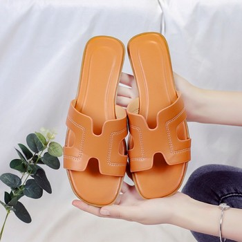 Female Slippers 2020 Women Sandals Candy Color Flat Beach Shoes Flop Ladies Sandals Beach Shoes Summer Woman Casual Flip Flop summer transparent slippers jelly shoes women sandals candy color casual beach slides women comfort ladies female shoes 2020 new